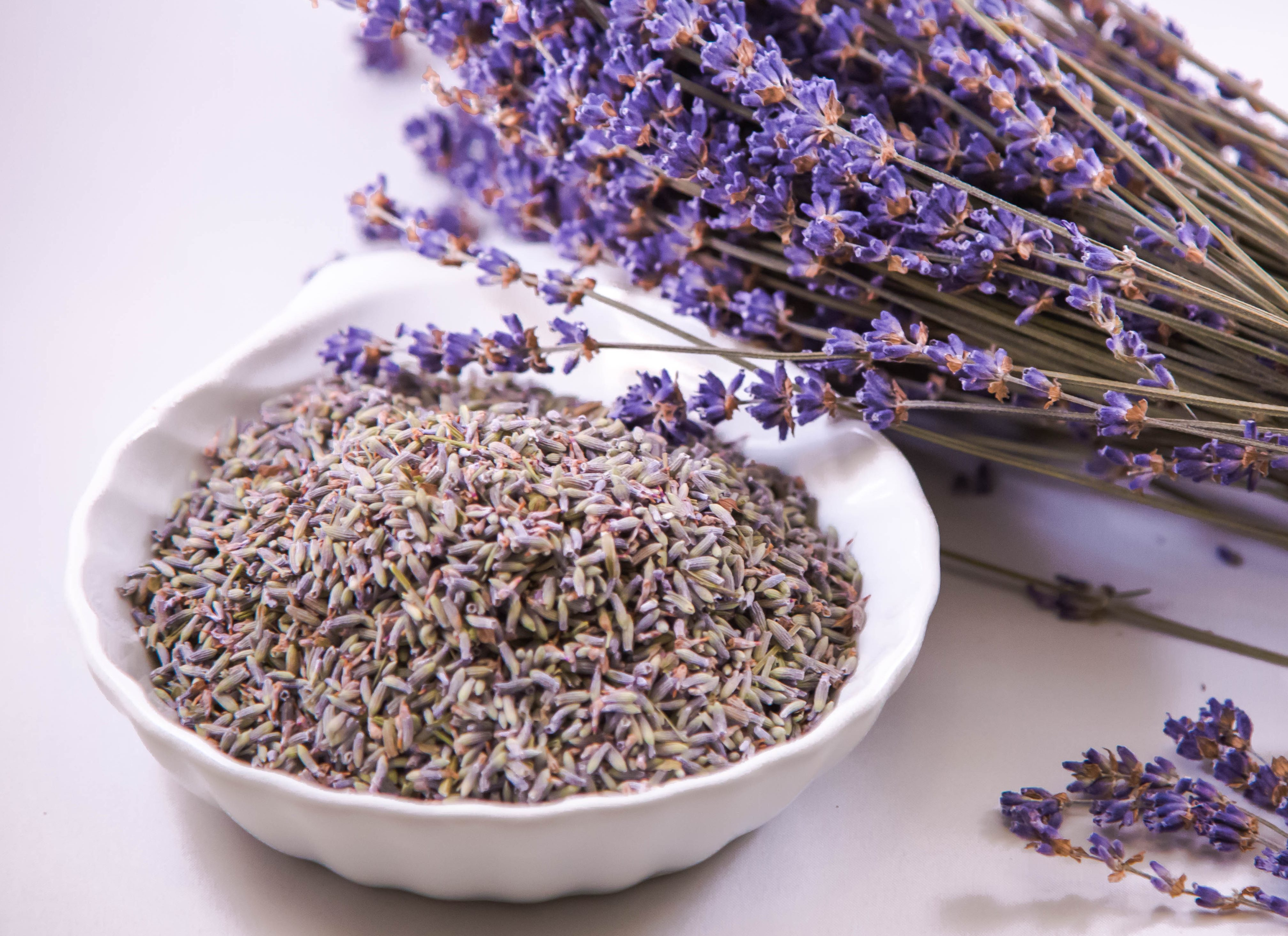 Best quality natural essential oils including Lavender - Lavandula , 100% Pure & Natural Lavander Oil Bulgarian, and other fragrance & perfume oils at the most discount rates by BMV Fragrances in UP, India.