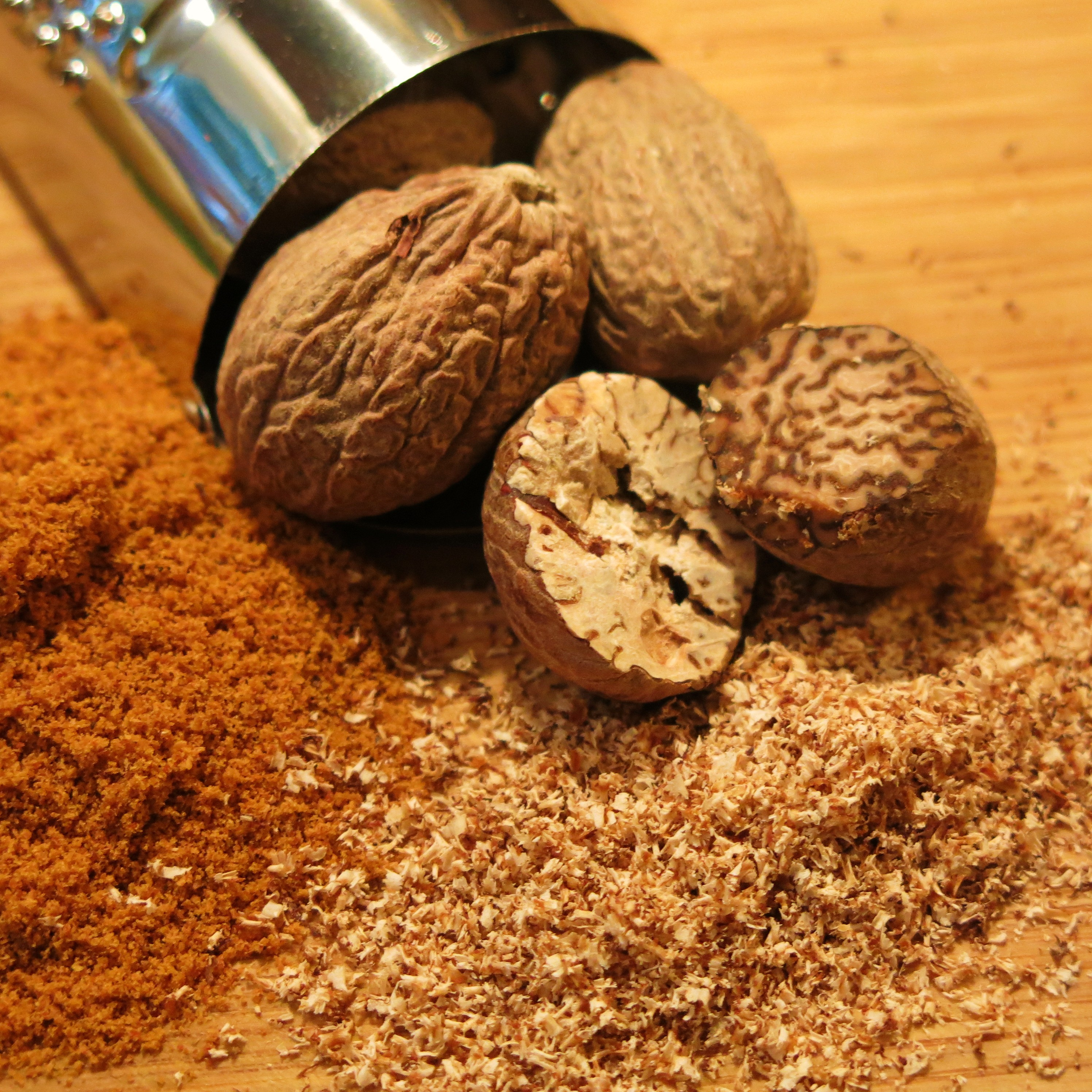 BMV Fragrances offers Nutmeg Oil comprising 100% Pure & Natural Nutmeg Absolute and is used in cosmetic & pharmaceutical industries in toothpastes, cough syrups.